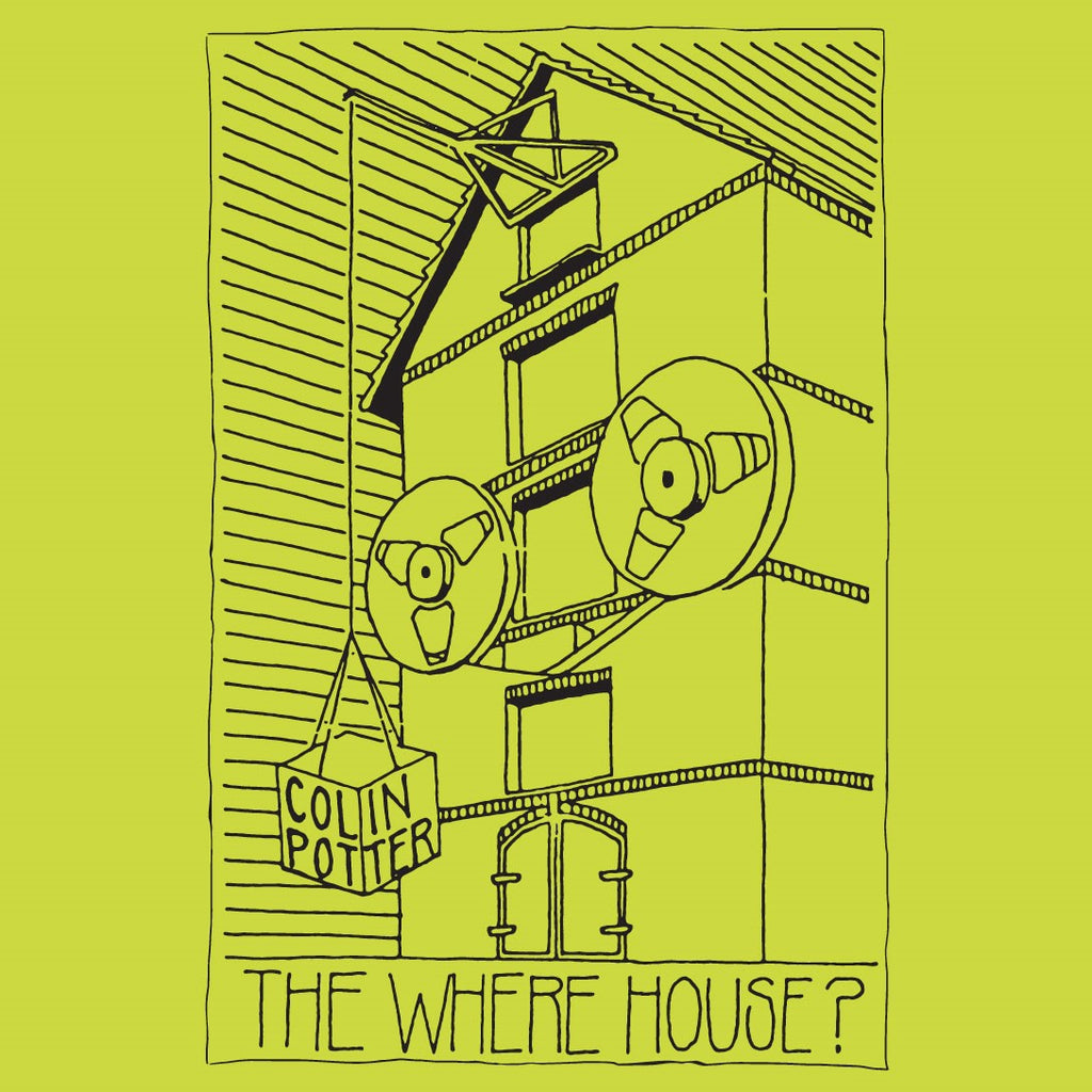 Colin Potter  'The Where House?'  2LP  *TEMPORARILY OUT OF STOCK*