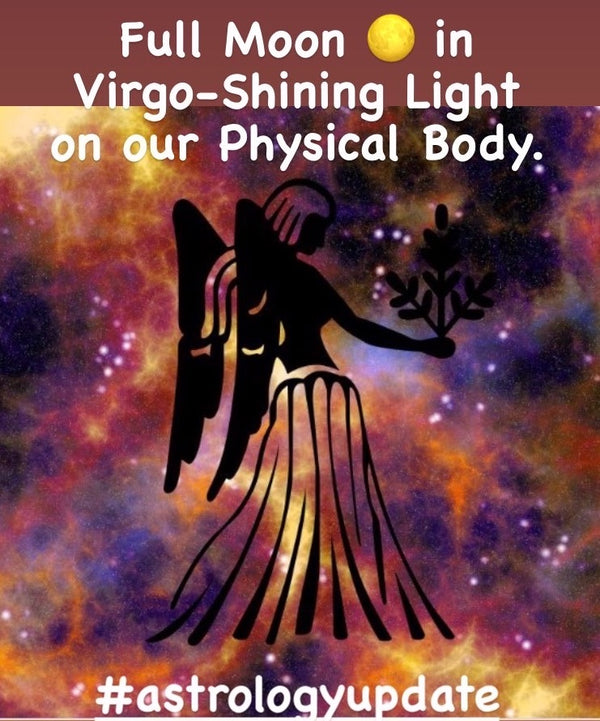 Full Moon in Virgo: Shinning Light on our Physical Body