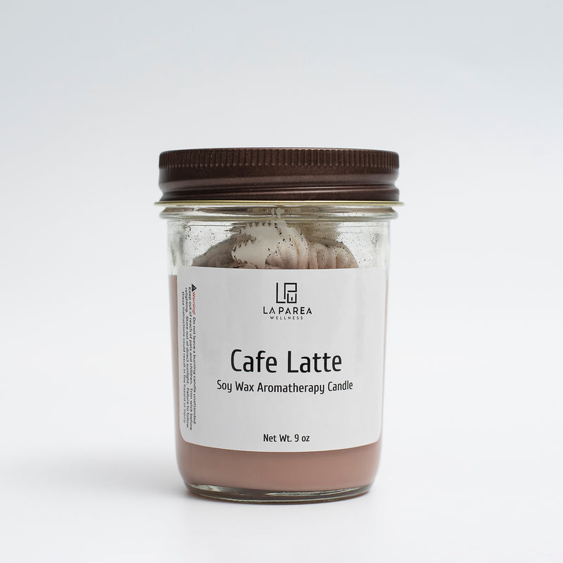 Cafe Latte Scented Soy Candle