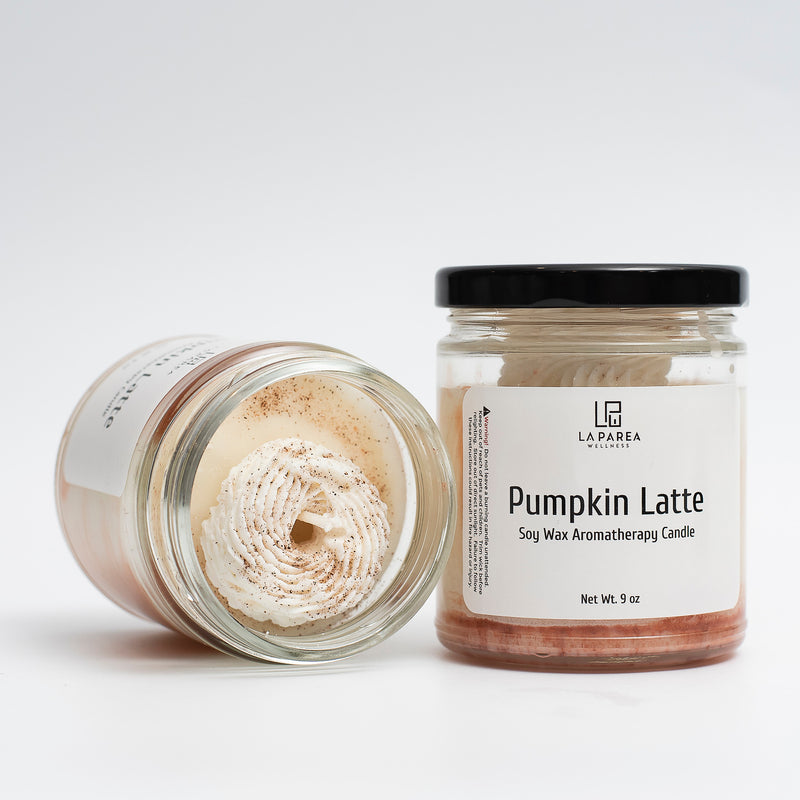 Pumpkin Latte Luxury Scented Soy Candle