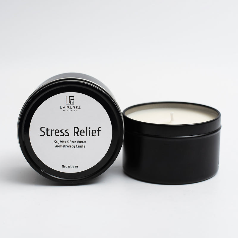 Stress Relief Aromatherapy Candle, 6 oz