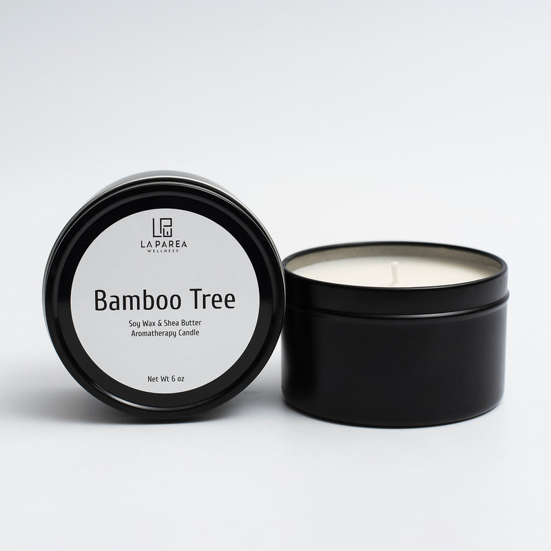 Bamboo Tree Scented Soy Candle