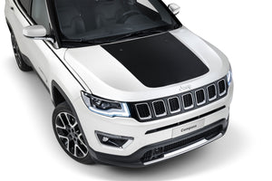 Center hood decal for Jeep Compass Trailhawk hood graphics kits