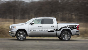 Side bed graphics for Dodge RAM the all-new 2019 sticker, decals kit