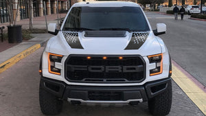 Hood graphics package kit for Ford F150 Raptor 2017-2020 decal sticker
