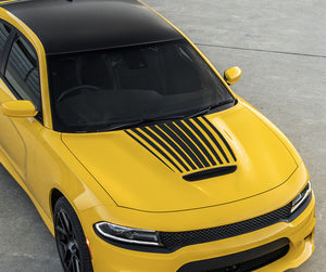 Daytona Power Bulge Hood Vinyl Graphic Decal Dodge Charger HC/392/Scat 2015 Up