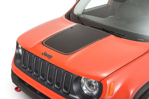 Center hood decal for Jeep Renegade hood graphics kits