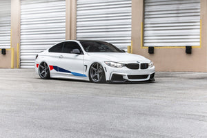 Side Stripe Graphics for BMW 4 Series F32 Coupe M Performance, sticker decals