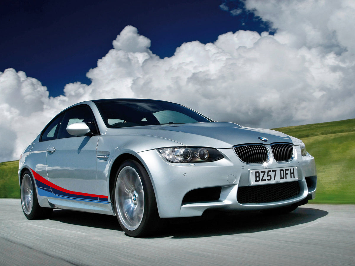 Side Stripe Graphics For Bmw 3 Series E92 Coupe M