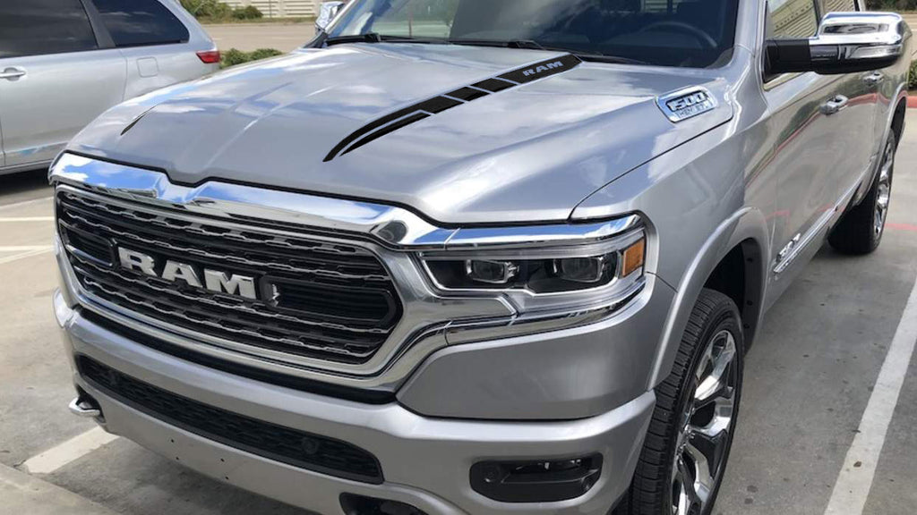 Side Hood Spears Decals For Dodge Ram The All New 2019 Sticker Graphi My Cars Look Professional Vinyl Graphics And Stripes