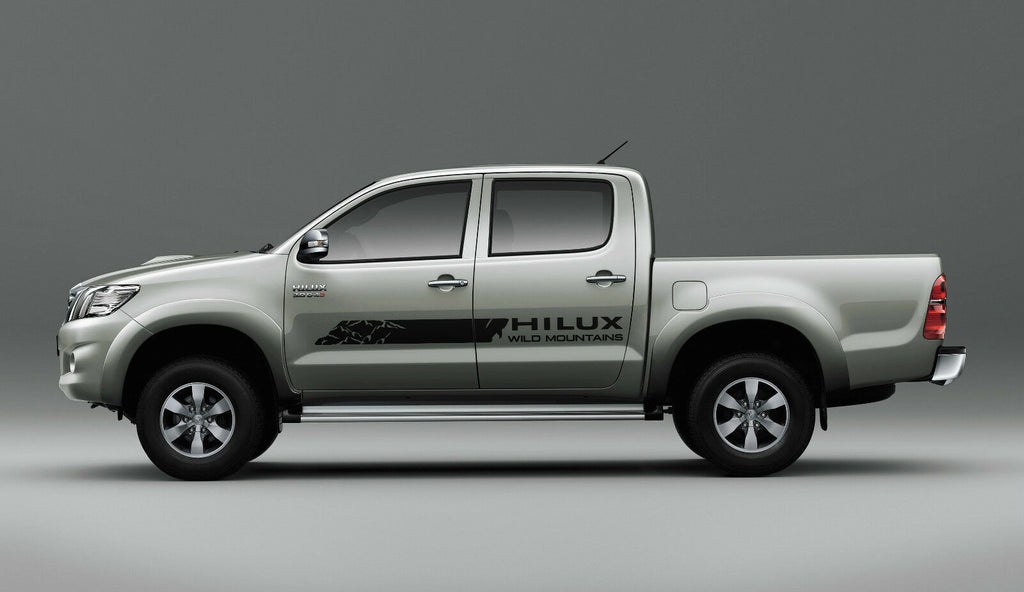 Toyota Hilux Trd Off Road Graphics Side Decal Stripe Decal My Cars Look Professional Vinyl Graphics And Stripes