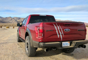 Ford F150 Raptor 2017-2018 bed tailgate claw graphics decal sticker