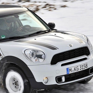 MINI Countryman Cooper Hood Stripes Bonnet Blackout Countryman 2011-2015