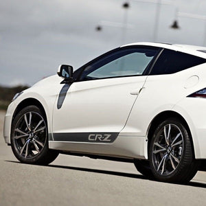 Honda CR-Z Door Panel side stripe decal sticker graphics logo