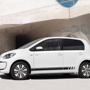 Volkswagen UP! 2011-2018 beats edition Racing side stripe decal graphics