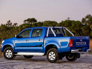 Toyota HILUX Graphics side decal stripe decal model 4
