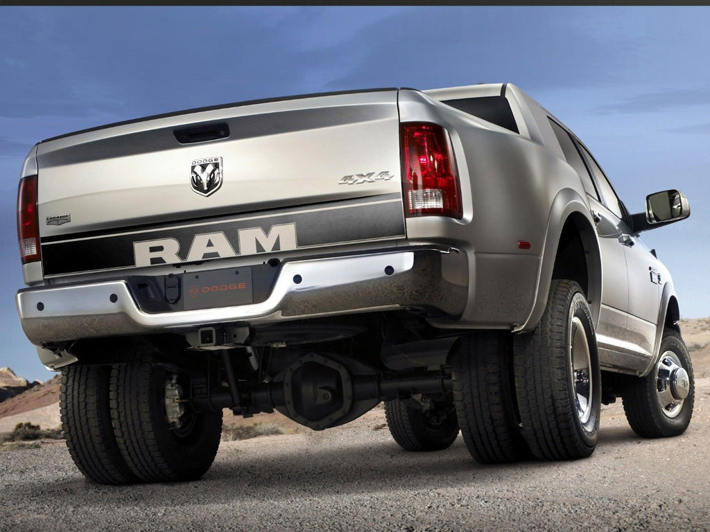 Dodge Ram 1500 Truck Tailgate Accent Vinyl Graphics Stripe Decal My Cars Look Professional Vinyl Graphics And Stripes