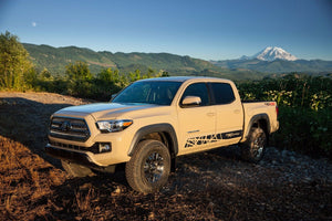 Toyota TACOMA 2016 TRD PRO Wild graphics Side stripe decal