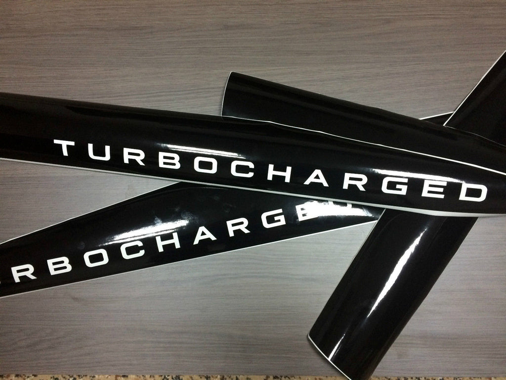 Nissan Juke TURBOCHARGERD Motorsport side stripe decal graphics