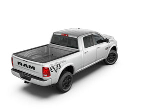 Dodge Ram mk4 1500 Rebel side bed graphics stripe decal 2