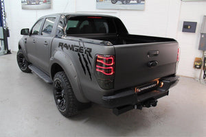 Ford Ranger Wildtrak logo side bed graphics decal sticker