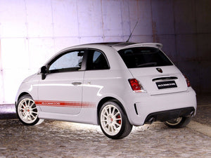 Fiat 500 ABARTH esseesse Decal side Graphics stripes
