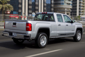 Side stripes decal for GMC Sierra door panel graphics model 6
