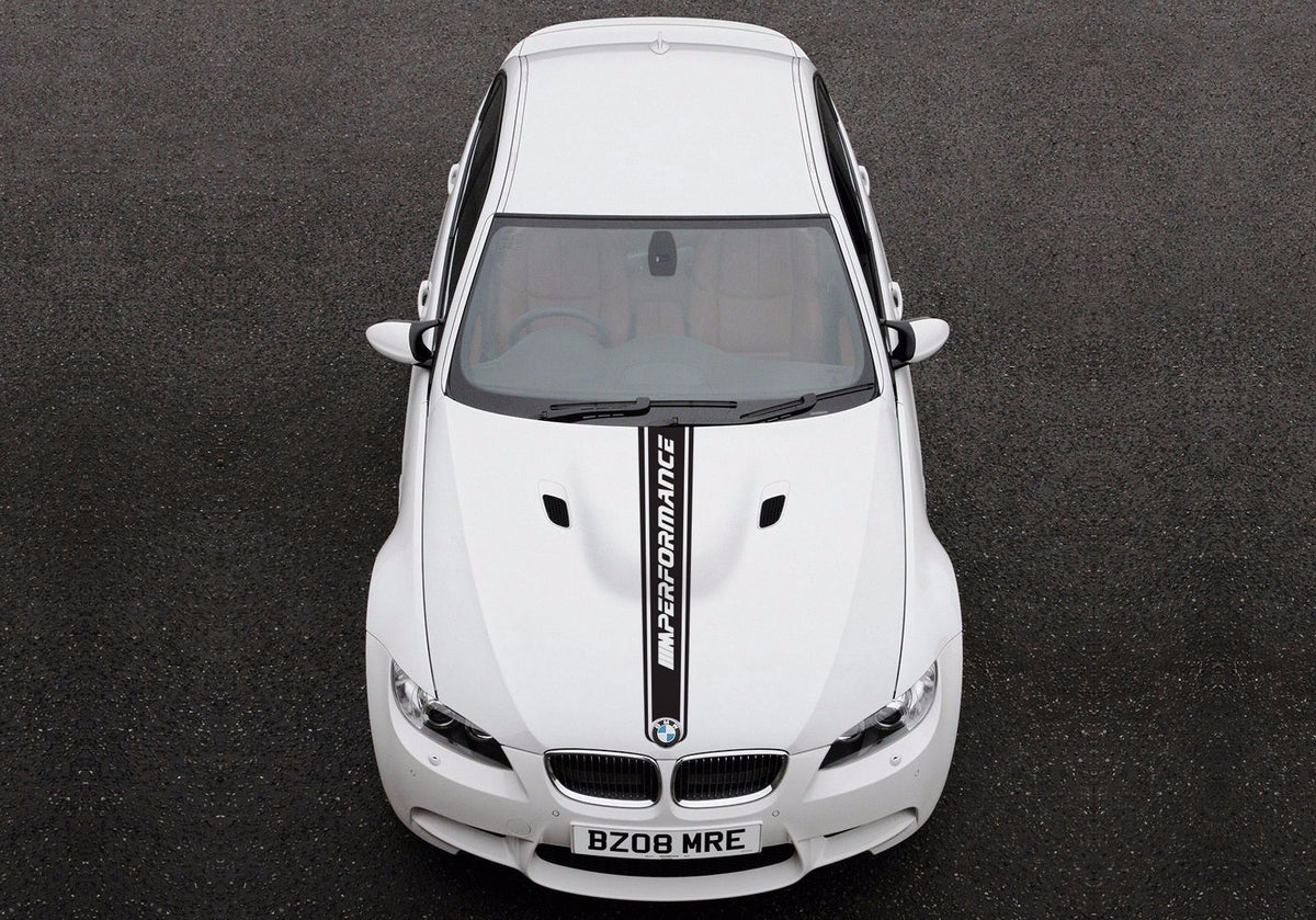 Bmw 3 Series E92 Hood Graphics Stickers Decals M Sport M