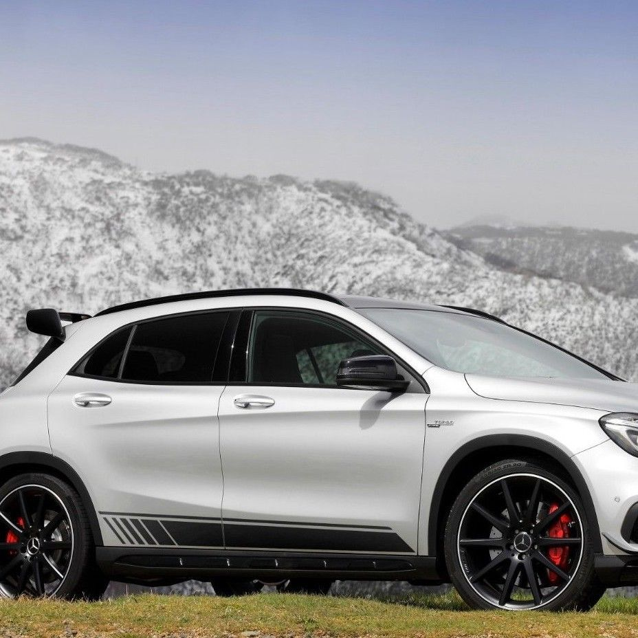Mercedes-Benz GLA-Class X156 AMG sports stripes Decal Graphics