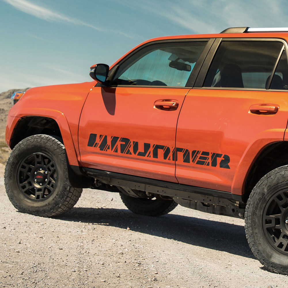 Toyota 4Runner 2016 TRD sport side stripe graphics decal Wild Style