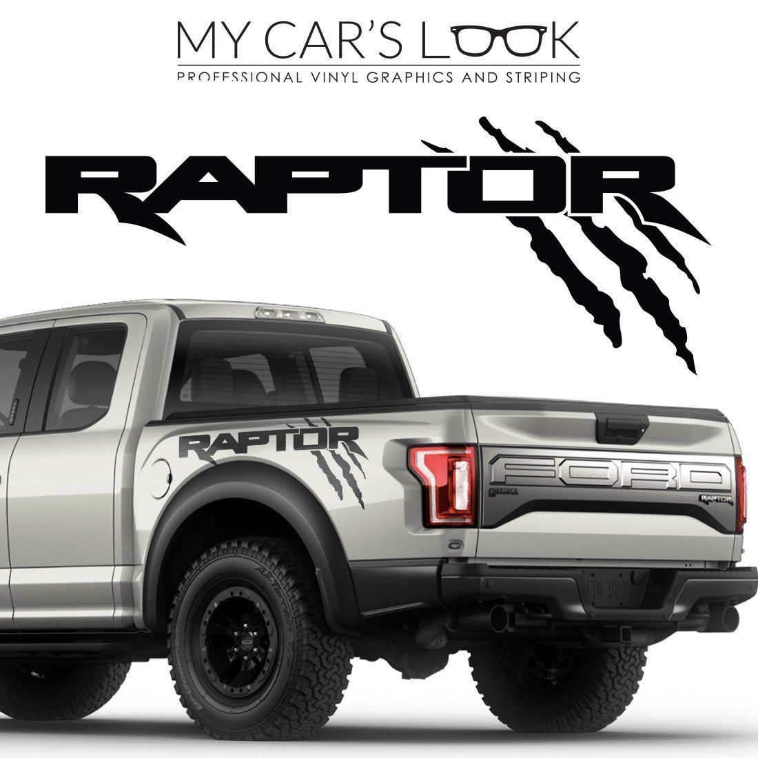 decal sticker raptor ford decals graphics exterior f150 svt kit vinyl stickers bedside cars automotive amazon stripes bumper included install