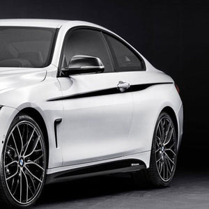 BMW F32 4 Series Coupe M Performance accent stripes Side Stripe Graphics