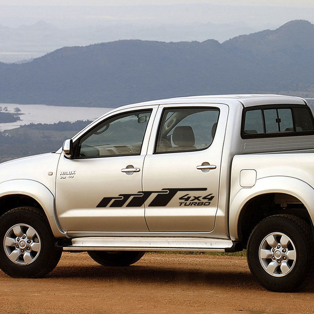 Toyota HILUX Graphics side decal stripe decal model 2