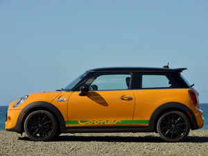 Mini Cooper S F56 2014-2018 - side stripes graphics Porsche Carrera RS style