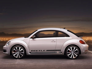 Volkswagen Beetle 2011-2018 rocker Stripe Stripes Graphics Decals
