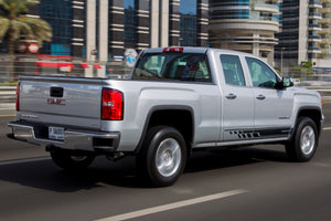 Side stripes decal for GMC Sierra door panel graphics model 3