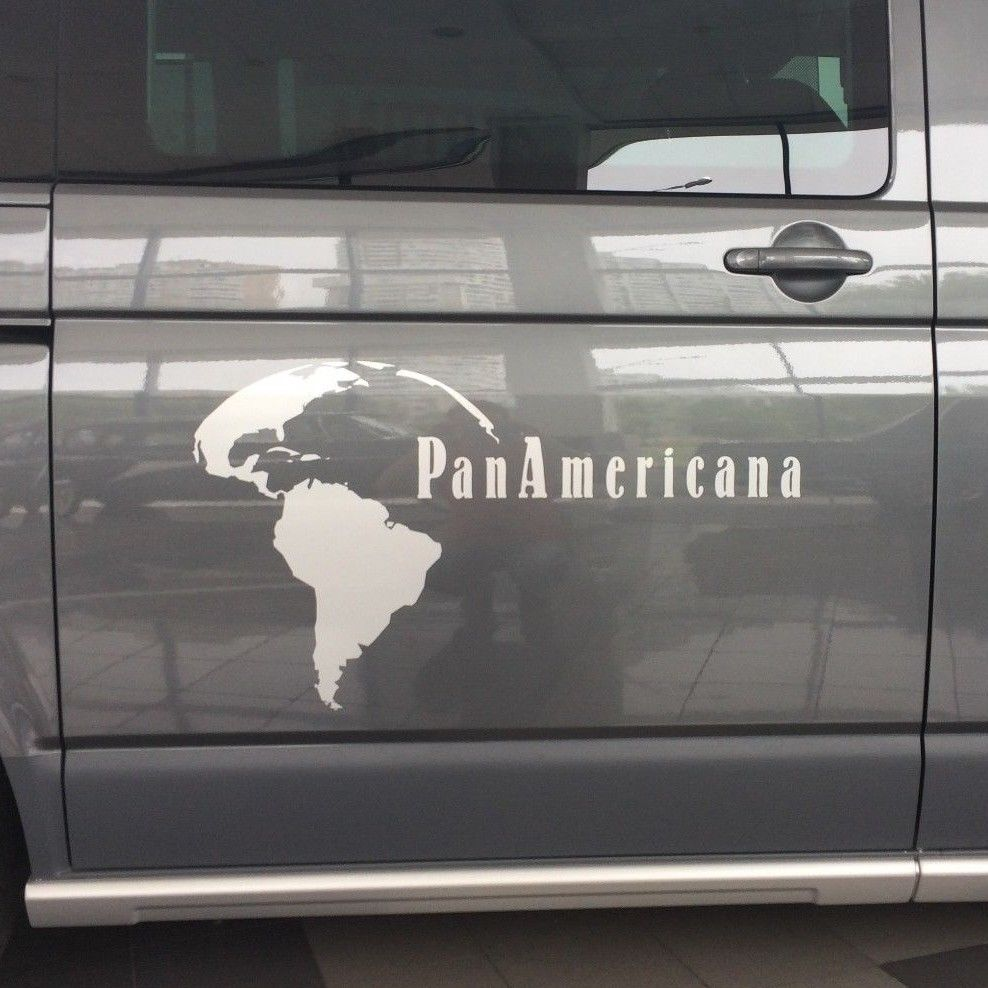 Volkswagen T5 Multivan PanAmericana - side stripe decal graphics sticker