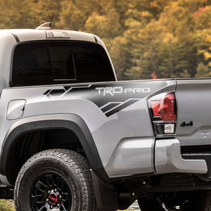 Toyota Tacoma TRD side bed graphics decal sticker model 3
