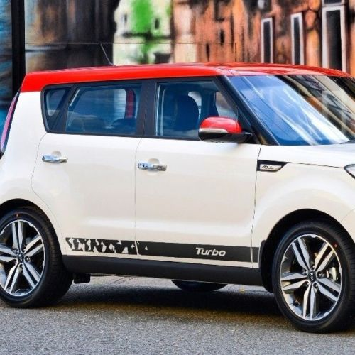Kia Soul 2014-2018 side graphics decal sticker logo #3