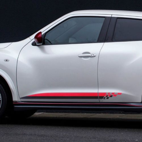 Nissan Juke decal rocker stripes side graphics decal door panel