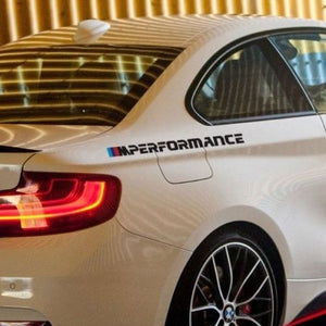 BMW M Performance new logo 2016 side logo decal graphic sticker