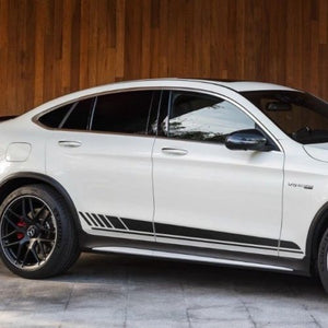 Mercedes-Benz GLC-Class C253 AMG sports stripes Decal Graphics