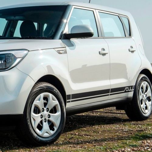 Kia Soul 2014-2018 side graphics decal sticker logo #2