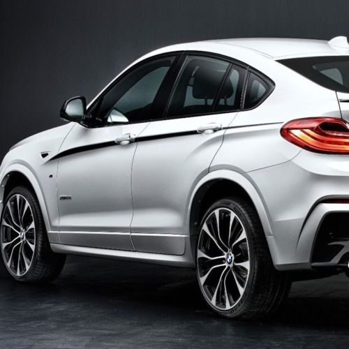 BMW X4 M F26 M Performance accent stripes Side Stripe Graphics decals