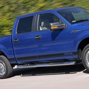Ford F-150 2008-2014 4x4 graphics side stripe decal sticker