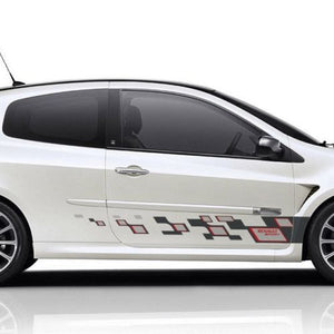 Renault Clio MK3 side stripe graphics decal sticker style 2