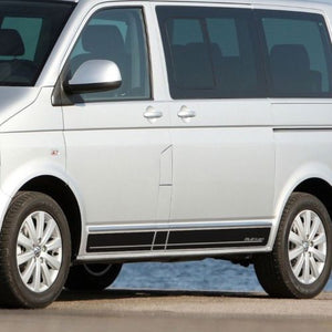 Volkswagen T5 bus Multivan - side stripe decal graphics sticker