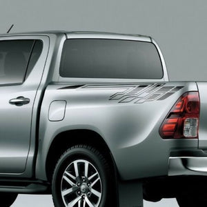 Side bed graphics for Toyota HILUX 2016 TRD bed decal