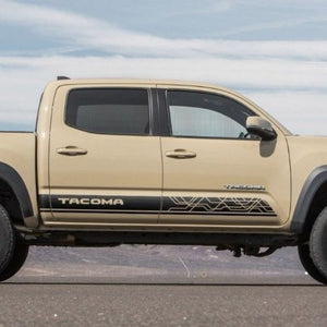Toyota TACOMA 2016 TRD sport style graphics Side stripe decal