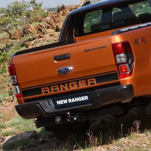 Ford Ranger Wildtrak logo Bed Tailgate Accent Vinyl Graphics stripe decal